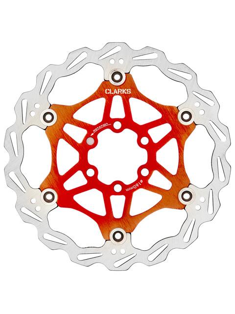Clarks Lightweight Disc-Rotor 6-loch orange